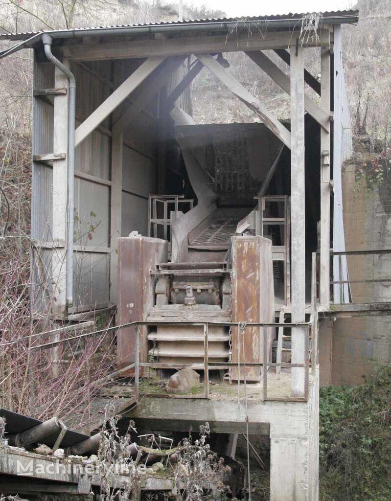 AUGUST-MÜLLERJAW crusher 800 x 500 / Backenbrecher britadeira