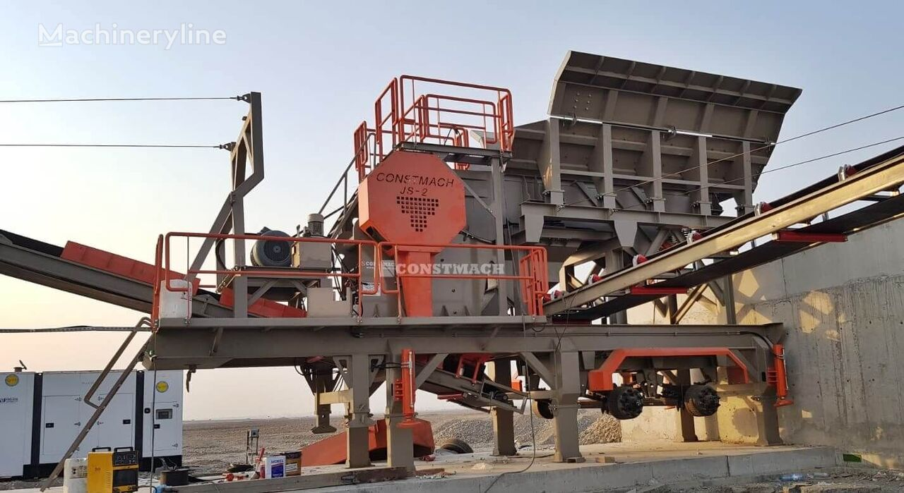 britadeira CONSTMACH Jaw Crusher Types - Delivery from Stock - Quality Service novo