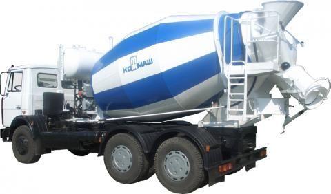 MAZ 6303  camião betoneira