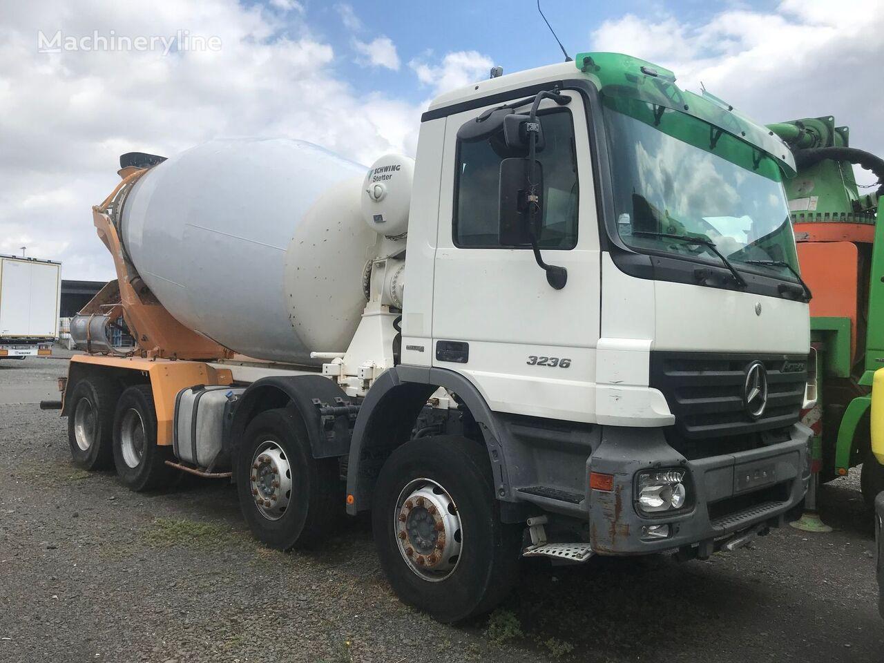camião betoneira MERCEDES-BENZ Actros 3236