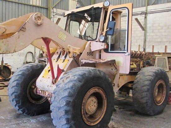 HANOMAG 55C  carregadeira de rodas para peças