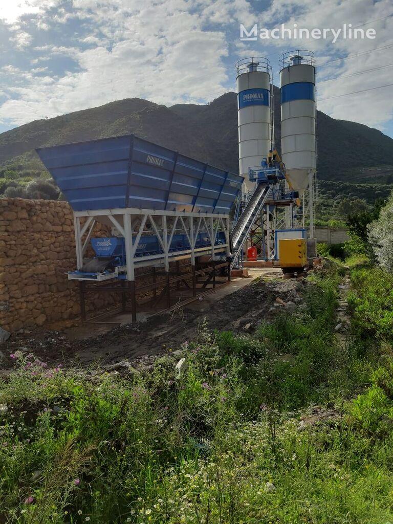 central de betão PROMAX Compact Concrete Batching Plant C60-SNG-LINE (60m3/h) novo
