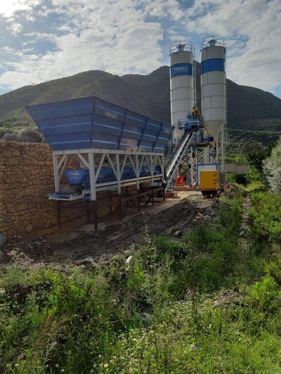 central de betão PROMAX Compact Concrete Batching Plant PROMAX C60-SNG LINE(60m³/h) novo