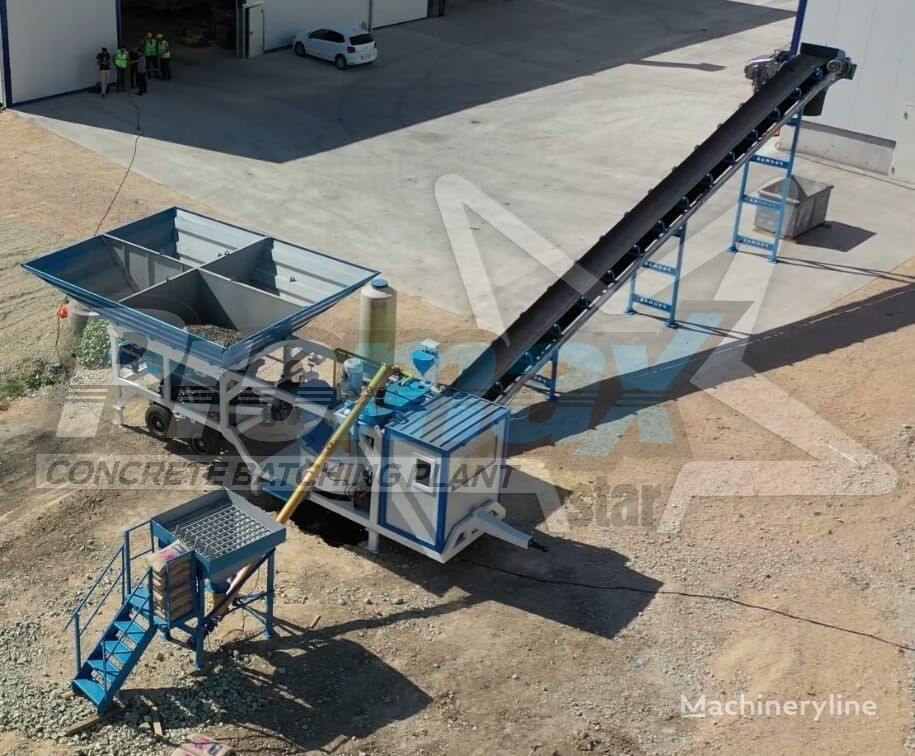 central de betão PROMAX Mobile Concrete Batching Plant M35-PLNT novo