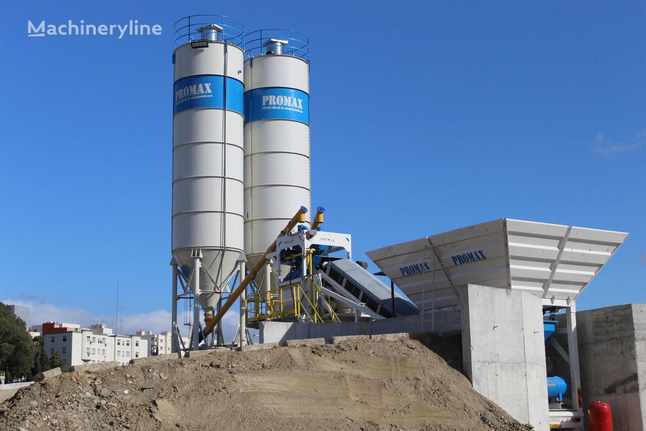 central de betão PROMAX Mobile Concrete Batching Plant PROMAX M100 (100m3/h) novo