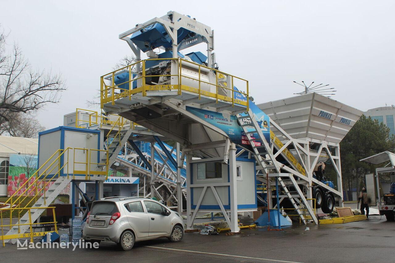 central de betão PROMAX Mobile Concrete Batching Plant PROMAX M100-TWN (100m³/h) novo