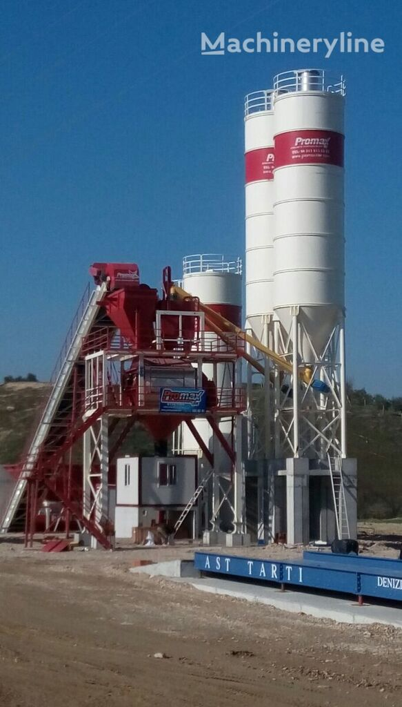central de betão PROMAX STATIONARY Concrete Batching Plant S160-TWN (160m3/h) novo