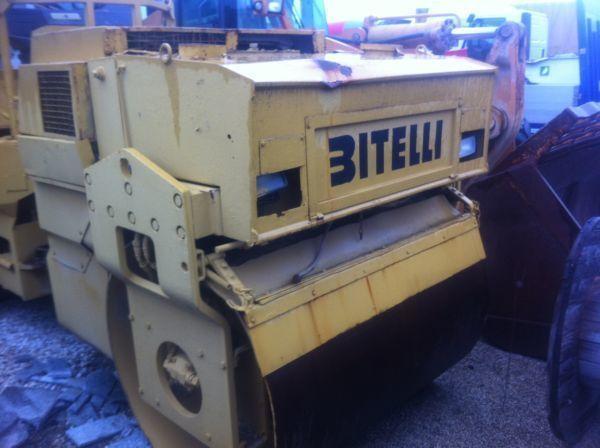 BITELLI 61 compactador pequeno de asfalto