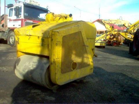Walec drogowy compactador pequeno de asfalto