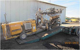BERETTA T43 equipamento de perfuração