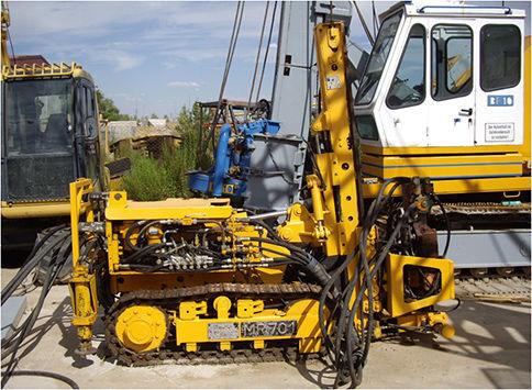KLEMM MR701 equipamento de perfuração