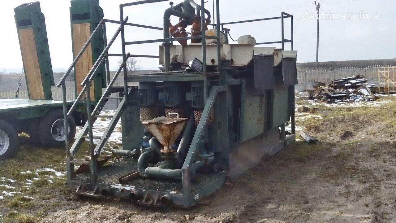 VERMEER  Mud recycling unit Basic Fabrication MCS 260 equipamento de perfuração