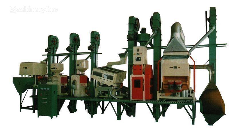 Risovyy zavod Kitay 18 - 150 tonn v sutki equipamento industrial novo