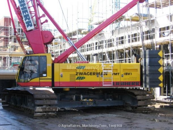 LIEBHERR LR-1160 escavadora de cabos