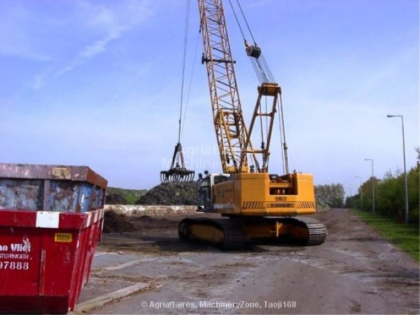 LIEBHERR LR 853 escavadora de cabos