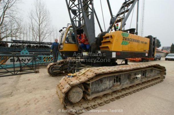 SANY SCC 800 C escavadora de cabos