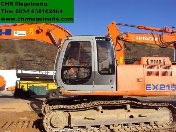 FIAT-HITACHI EX215 escavadora de lagartas