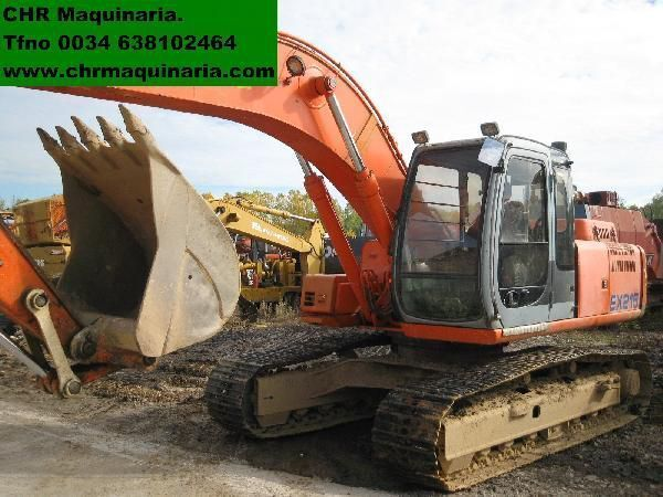 FIAT-HITACHI EX255 escavadora de lagartas