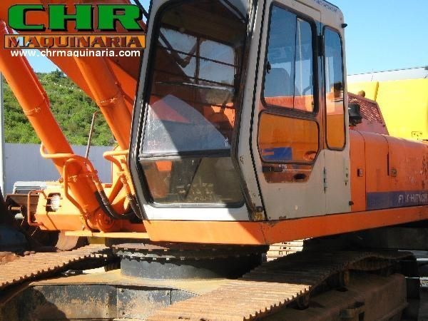 FIAT-HITACHI FH200 - FH220 escavadora de lagartas