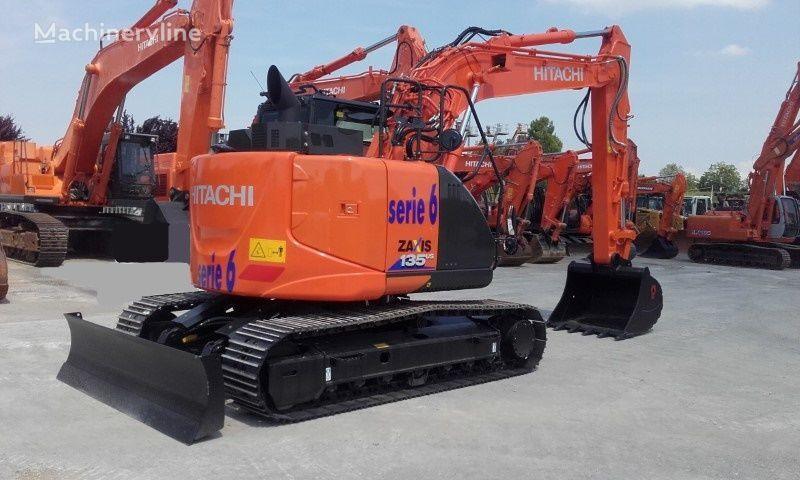 escavadora de lagartas HITACHI ZX135US-6 novo