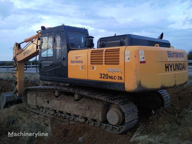HYUNDAI R320LC7 escavadora de lagartas