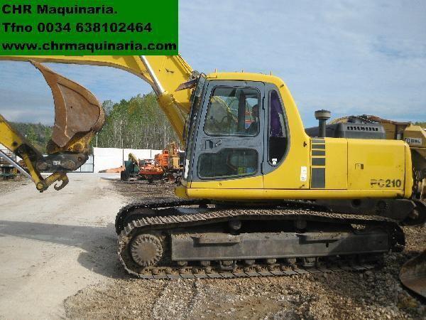 KOMATSU PC210-6 escavadora de lagartas