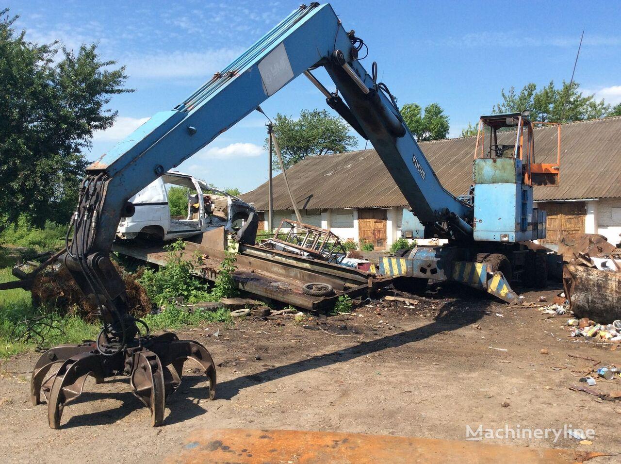 FUCHS 714 MU escavadora de movimentação