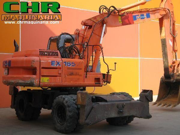 FIAT-HITACHI EX165W.3 escavadora de rodas
