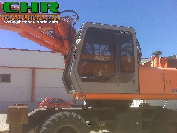 FIAT-HITACHI FH200W.3 escavadora de rodas