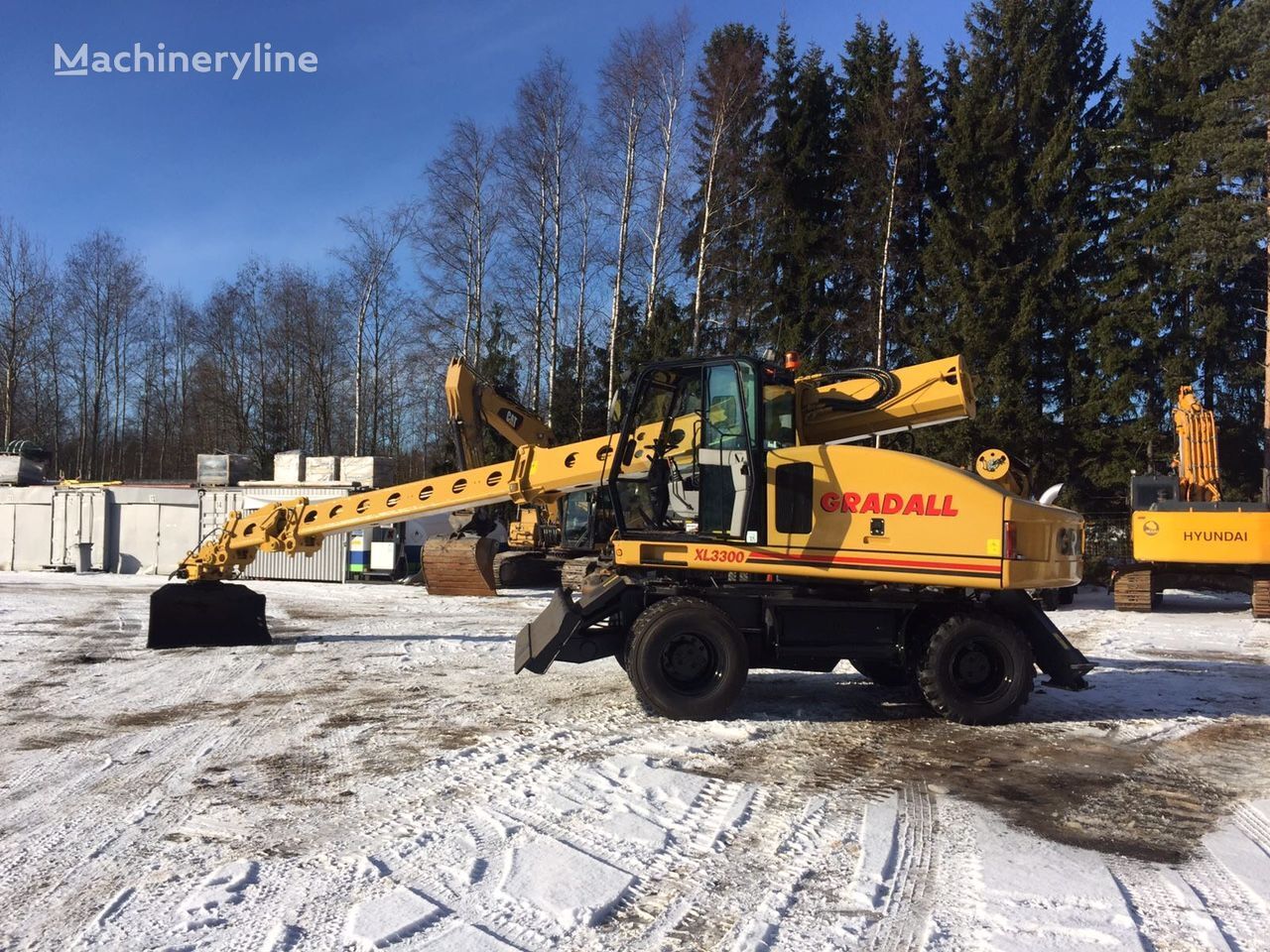 GRADALL XL 3300 escavadora de rodas