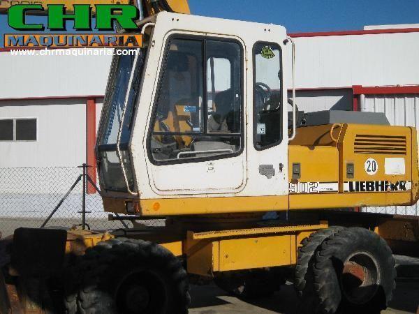 LIEBHERR 902 escavadora de rodas