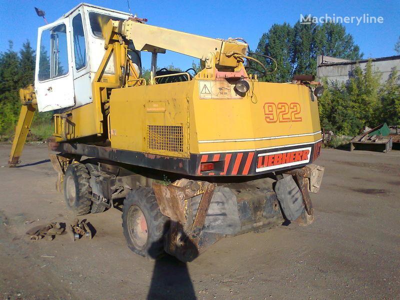 LIEBHERR 922 escavadora de rodas para peças