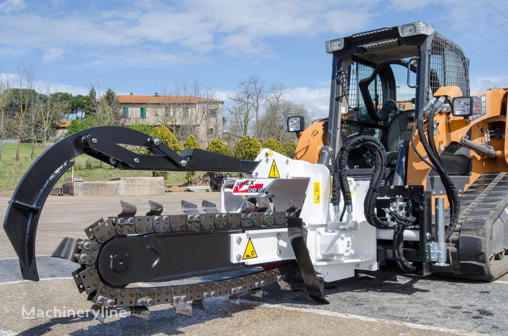 SIMEX CHD120 escavadora de valas