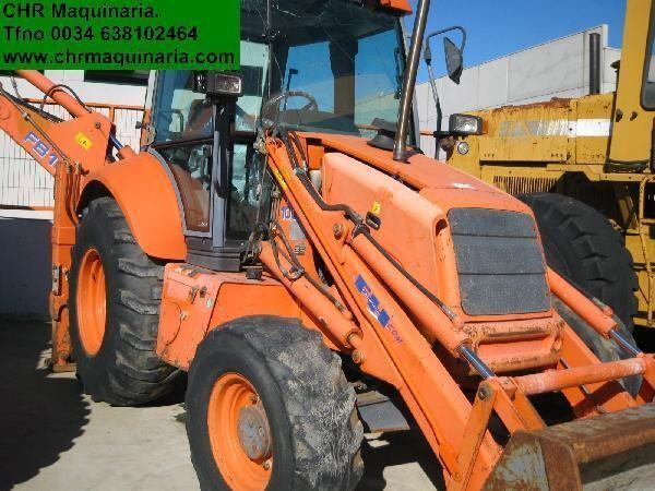 NEW HOLLAND FB 110 escavadora empilhador