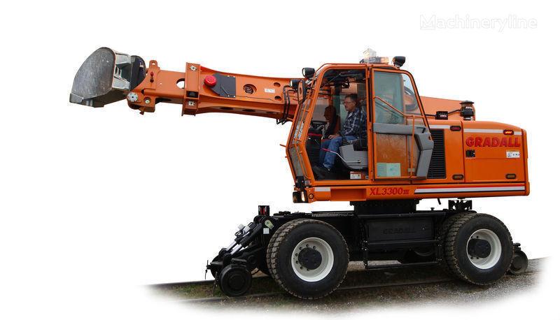 GRADALL XL 3300 escavadora ferroviário novo