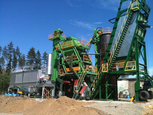 DMI DMAP MB 1300 fábrica de asfalto novo