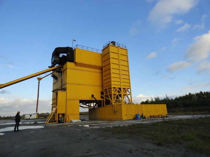 LINTEC CSD 3000 fábrica de asfalto