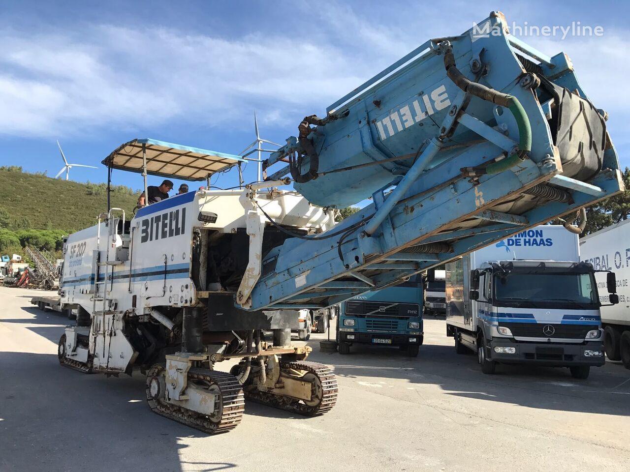 fresadora de asfalto BITELLI SF 202 R - COLD PLANNER / ROAD CUTTER / ASPHALT MILLING MACHINE