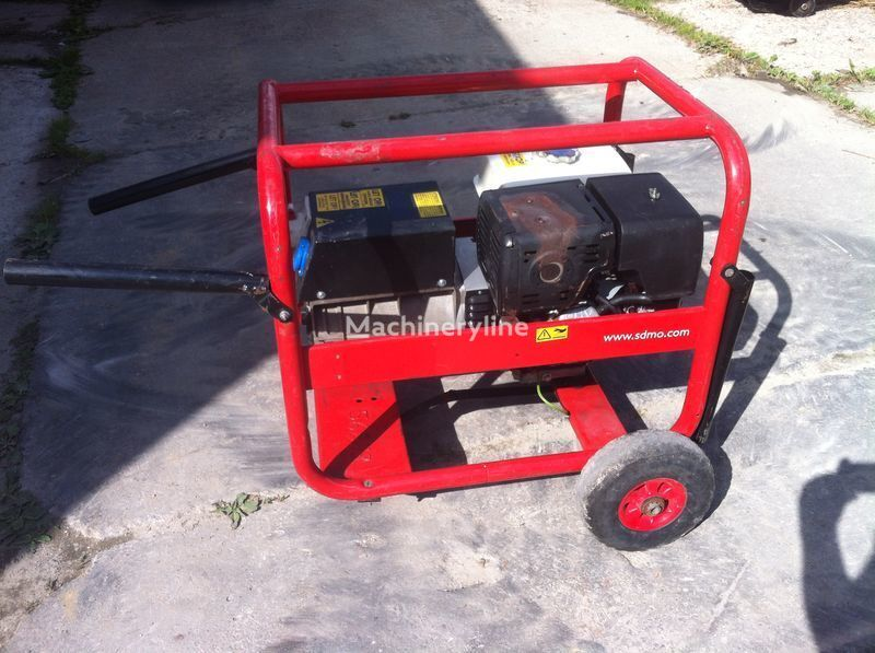 SDMO 7500 t-2 gerador