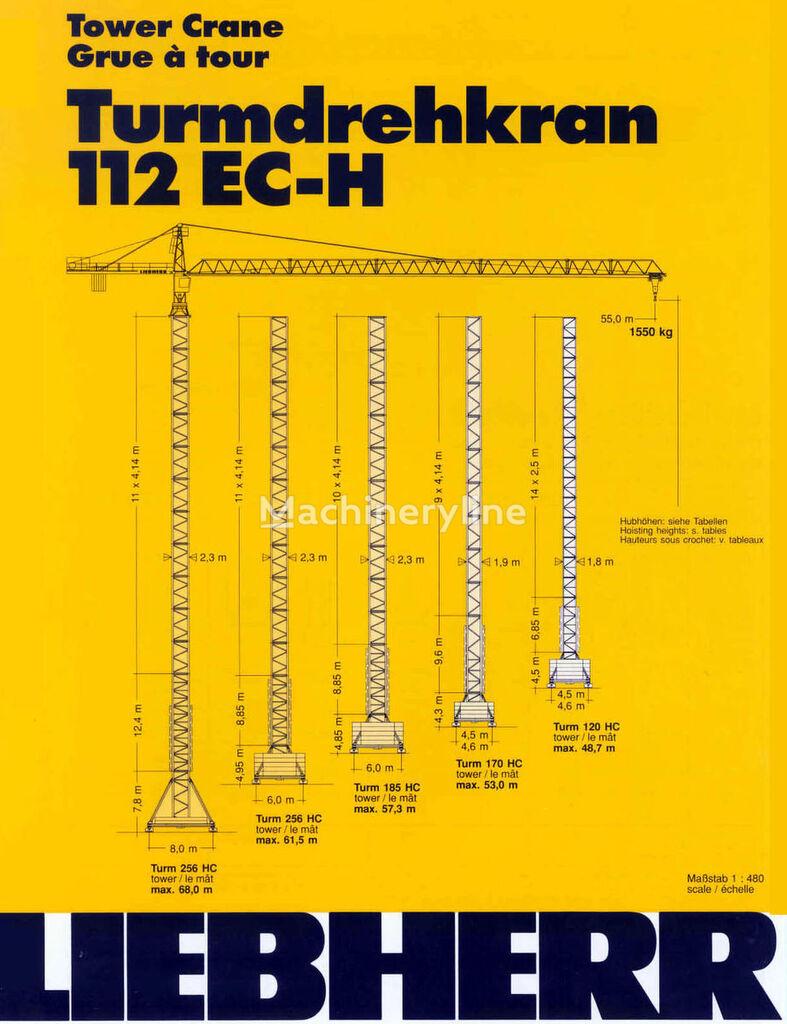 grua de torre LIEBHERR 112 EC-H