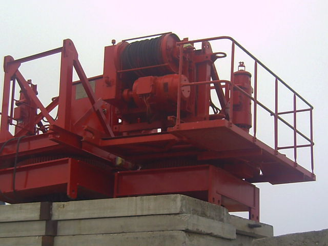 POTAIN pingon GP 4010 con base, opcion cabina grua de torre