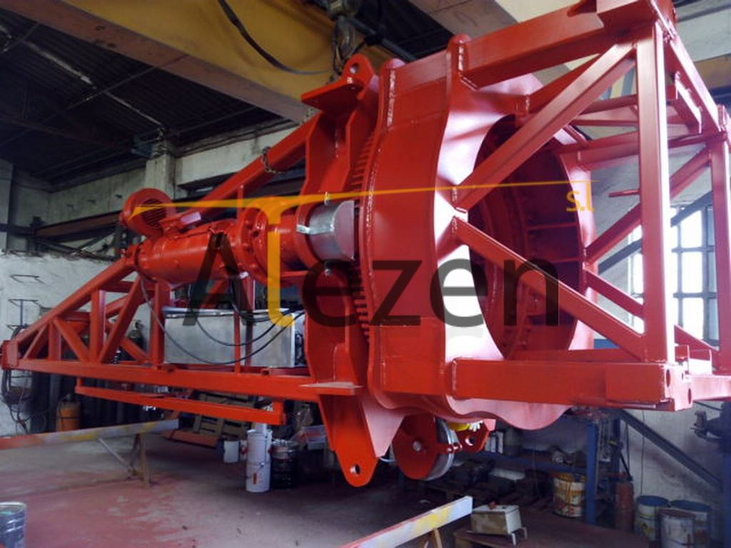 SAEZ s 52 RECONDITIONED grua de torre