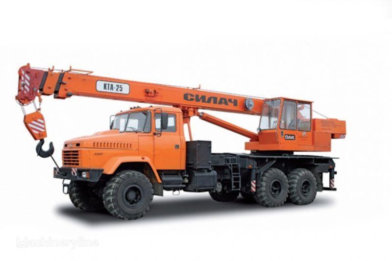 KRAZ 65053 (KTA-25) i KrAZ-63221 (KTA-25) grua móvel