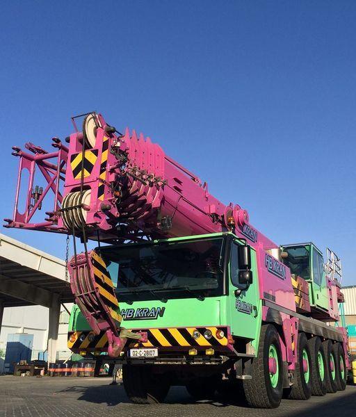 LIEBHERR 100 Ton Crane LTM 1100 - 5.2  (SOLD) grua móvel