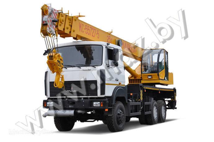 MAZ KS-55727-5-11, 12, 21, 22 grua móvel