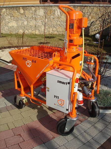 PFT G 4 Next Generation máquina de estuque novo