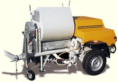 PUTZMEISTER P 13 máquina de estuque novo