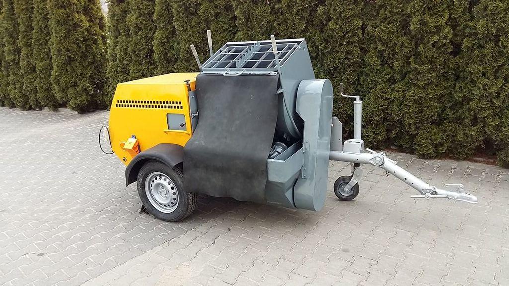 PUTZMEISTER P-13 KA 139 máquina de estuque