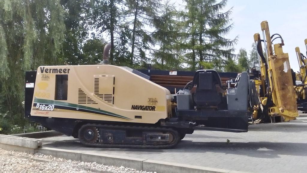 VERMEER  16x20SII máquina de perfuração horizontal