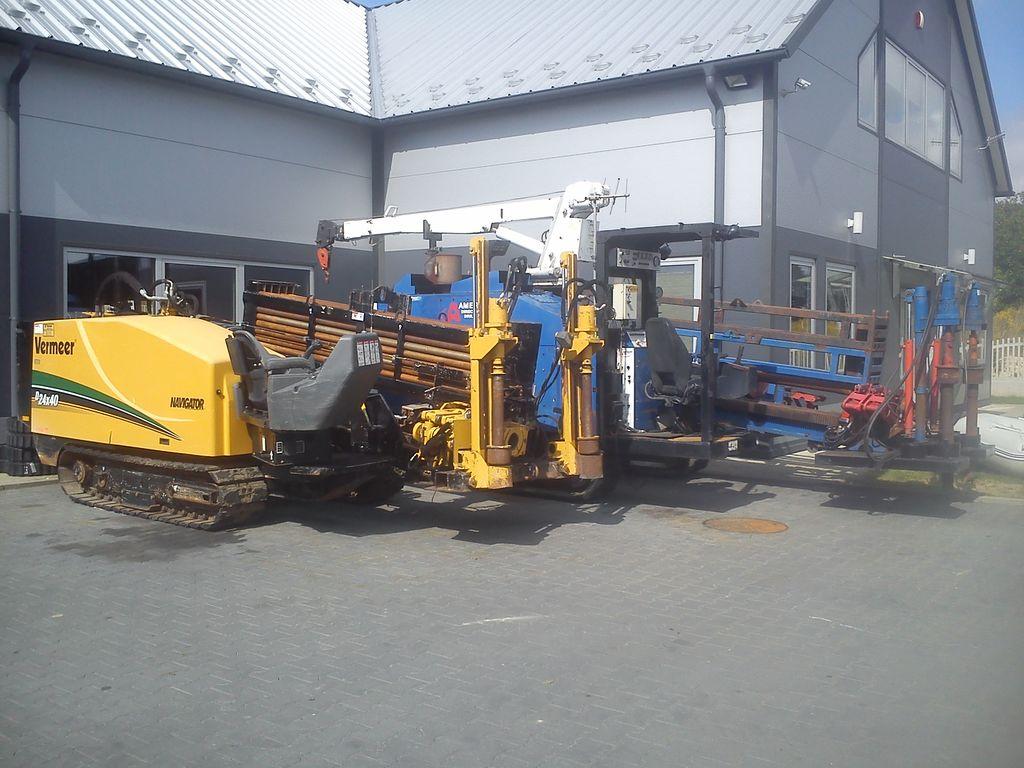 VERMEER  D 24x40 SII máquina de perfuração horizontal